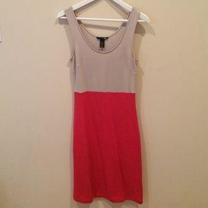 H&M color block work dress