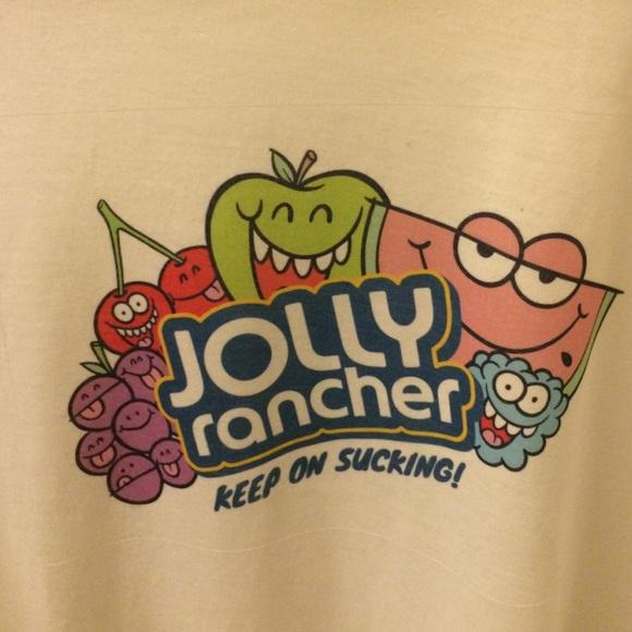 Jolly Rancher Keep on Sucking tshirt!