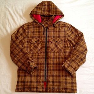 Supreme Jacket Flannel (Detachable Hoodie)