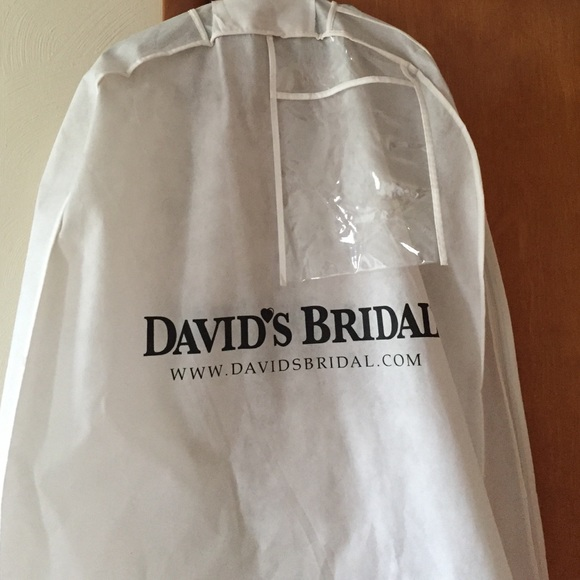 David\'s Bridal Dresses | Davids Bridal Garment Bag For Dress | Poshmark