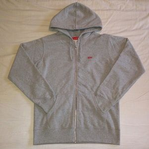 Supreme Mini Box LogoZip Up Hoodie (NOT THERMAL)