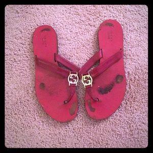 486783819d11 Gucci Shoes - Gucci Patent leather sandals - Authentic