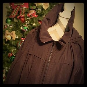 Jones New York Jackets & Blazers - 🎉HP🎉{Jones New York, 3X/XXXL} Purple Winter Coat