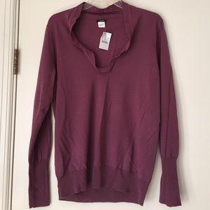 NWT. J Crew merino wool sweater - Size L