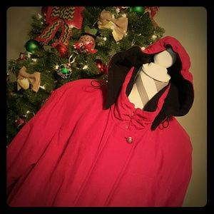 Forecaster  Jackets & Blazers - {Forecaster, 2X/XXL} RED Hooded Winter Coat