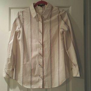 Tops - NWT button down shirt. Very cute