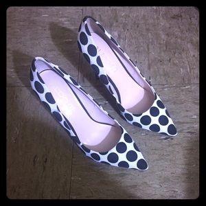 Aldo B&W Polka Dot Heels (8.5)