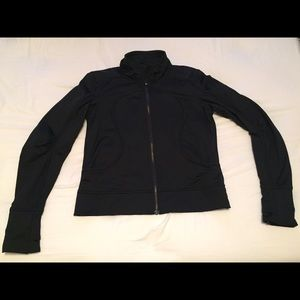 Lulu Lemon black zip jacket