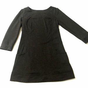 SALE MAX studio LBD grey tunic dress pockets