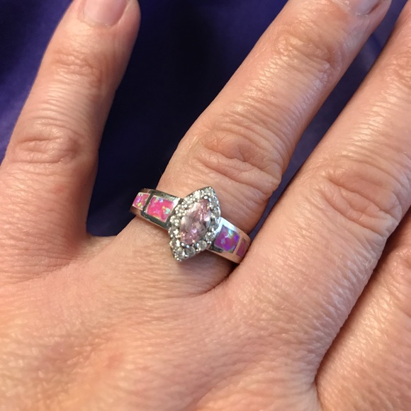 last one available pink opal ring size 9 from kate s closet