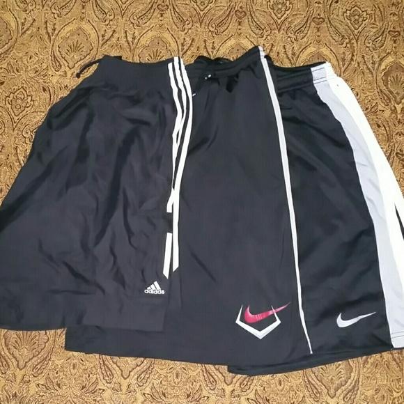 Men's Basketball Short Bundle Nike Adidas XL