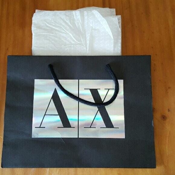 Armani Exchange Handbags - Armani Exchange Gift Bag acdfffa0a9ebd
