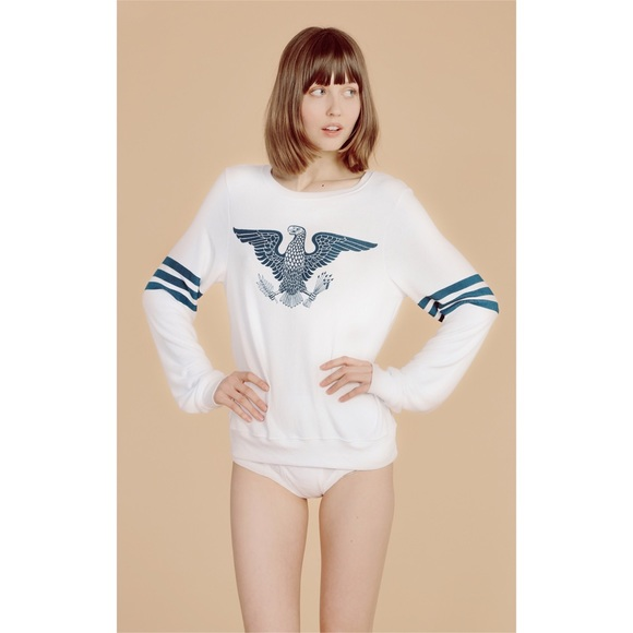 Wildfox We The Brave Baggy Beach Jumper