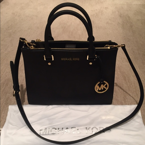 0083df4bc37f7f Michael Kors Sutton Medium Saffiano Leather Bag. M_566d1bdc7fab3aa0cc0448b2