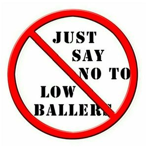 how to reject a low ball offer
