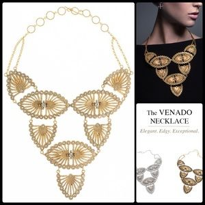 VIRGINS SAINTS & ANGELS 🌙 Venado Necklace NWT