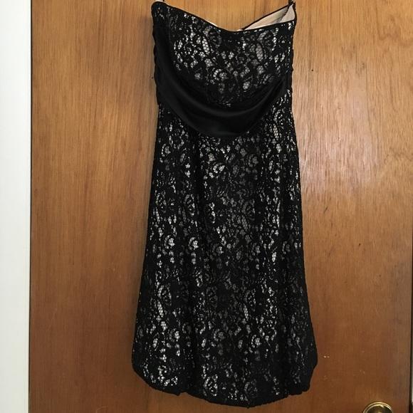 White House Black Market Dresses Strapless Lace Dress Poshmark
