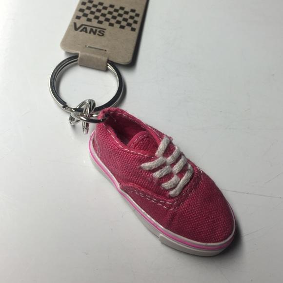 vans keyring shoe