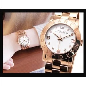 Marc by Marc Jacobs rose gold watch