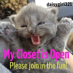 Other - Daisygirl321's closet is now open. 