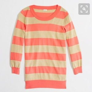 J.Crew Factory Sweaters - Jcrew factory Charlie sweater in stripe. Size S.
