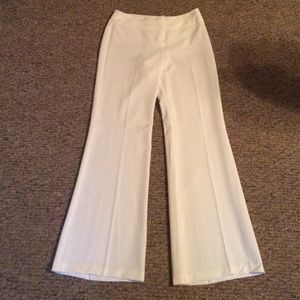 IZ white dress pants