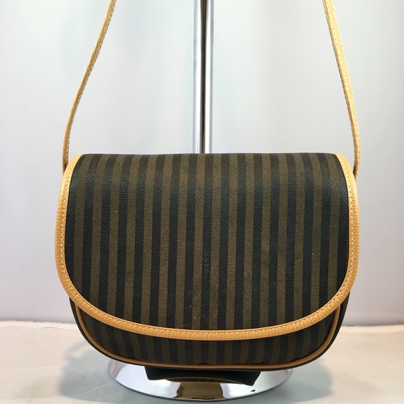 9f876ee714c9 FENDI Handbags - Fendi Striped Crossbody Handbag