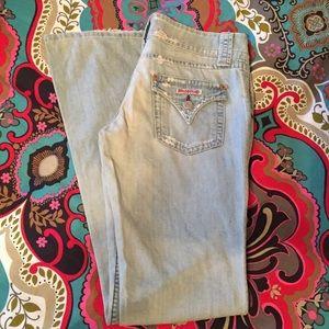 """Hudson Jeans Denim - Hudson Low Rise Boot Cut Jeans ~ 30"""" / 35"""""""