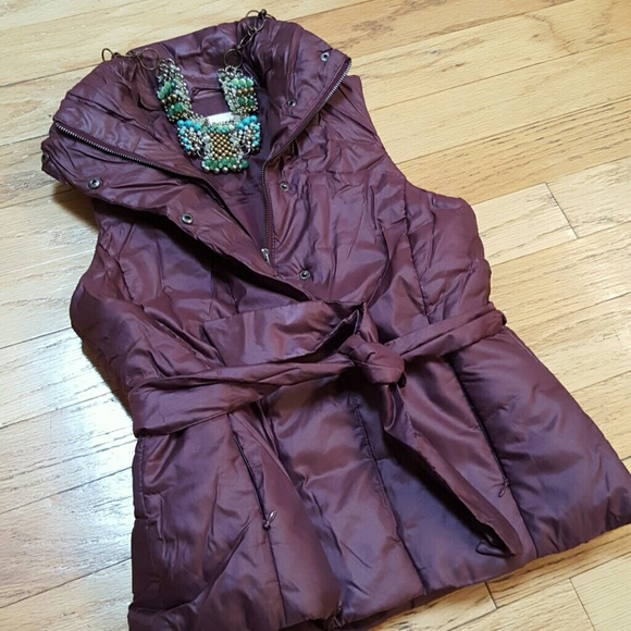 Merona Jackets & Coats | Nwot Mauve Puffer Vest | Poshmark