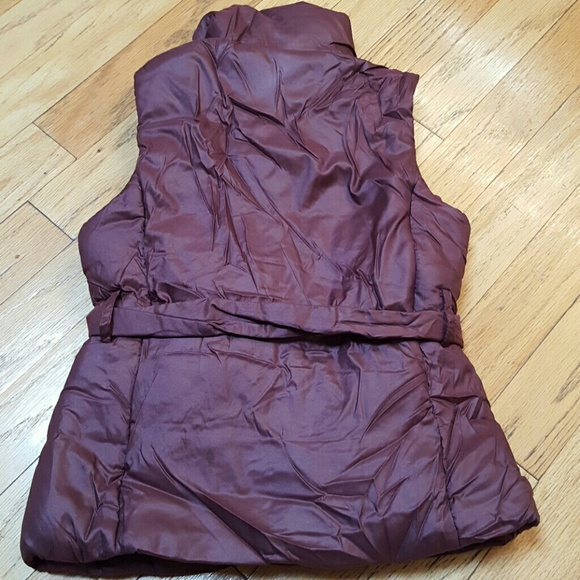 82% off Merona Jackets & Blazers - NWOT Mauve Puffer Vest ...