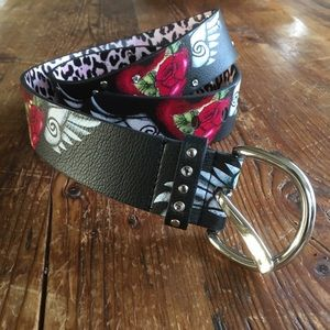 Similar to Ed Hardy--beautiful women's belt!