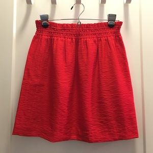 J. Crew Dresses & Skirts - J.Crew red skirt, size 2