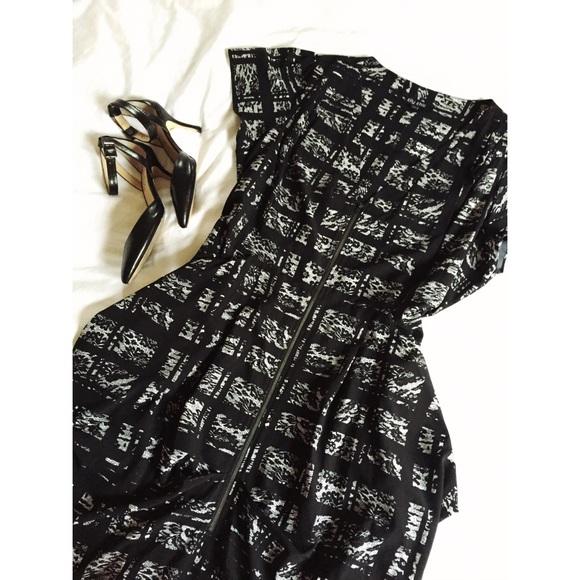 1e01e6fe218 City Chic Dresses & Skirts - Print Zip Front Pleat Tunic Dress Plus Size