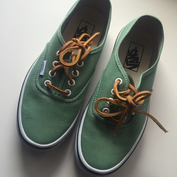 Vans Olive Green Shoes