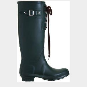 Barney's Lace-up rain boot