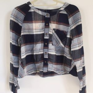 Urban outfitters flannel  top