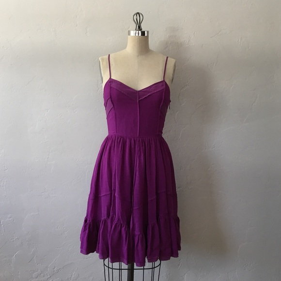 cb5f5425fb78 Juicy Couture Dresses   Skirts - Juicy Couture purple silk crepe dress