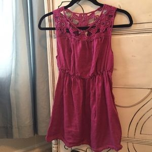 Sophie Max Tops - Beautiful Purple Knit Sleeveless Top size Medium!
