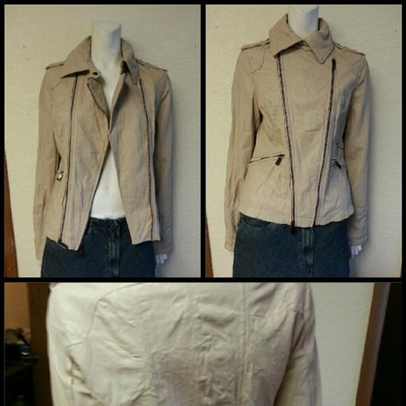 Pelle studio leather jacket