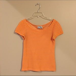 Vintage Orange Top