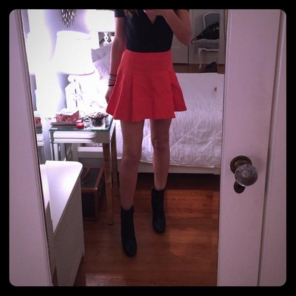 50 topshop dresses skirts topshop orange pleated