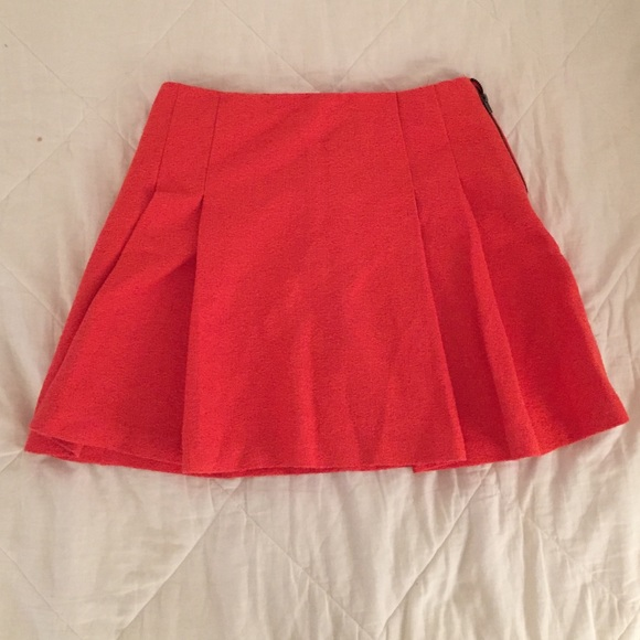 50 topshop dresses skirts topshop orange pleated