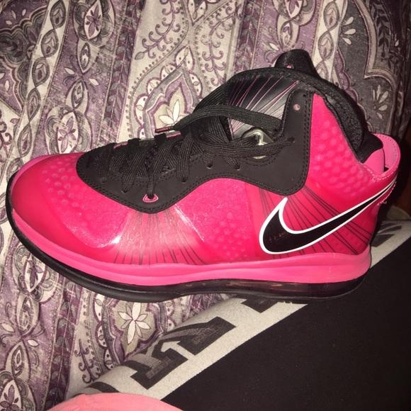 a339134a95bc Nike Shoes - Nike lebron-8-v2-gs-pink black