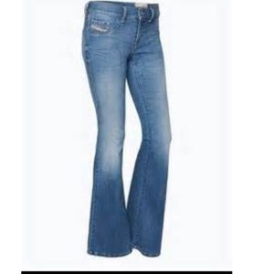 Made in Italy Diesel flared jeans