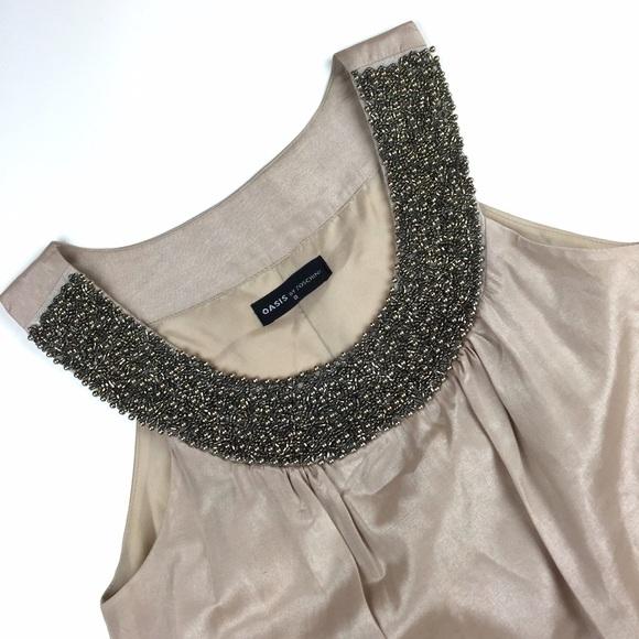 Foschini Dresses Neutral Tone Shimmer Dress Poshmark