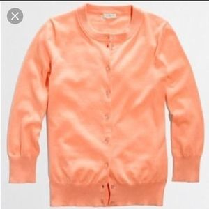 J. Crew Sweaters - J. Crew Factory Clare cardigan in coral