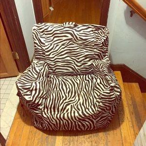 50 Off Big Joe Other Big Joe Dorm Bean Bag Chair From