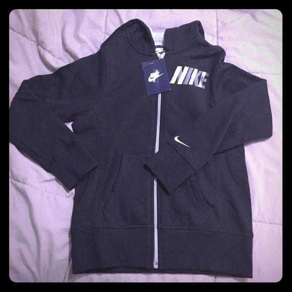 ed06a05cd501 Young Girls Nike Hooded Sweatshirt