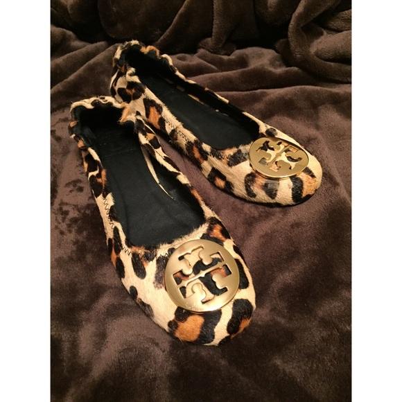 36ea2528f113 Tory Burch Leopard Calf Hair Reva Flats. M_566e1511d6b4a156d2053325