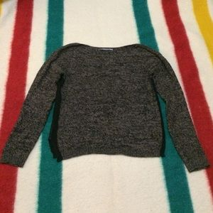 Dark cropped sweater from Nordstrom